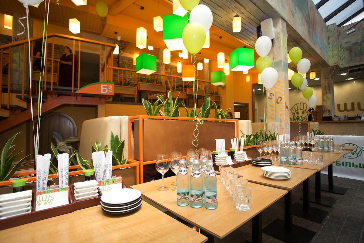 открытие ресторана Полтава СушиЯ